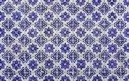 Antique Portuguese tiles stock image