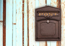 Antique post BOX Stock Photos