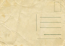 Antique Post Card Stock Image