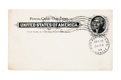 Antique post card Royalty Free Stock Image