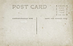 Antique Post Card Royalty Free Stock Photography