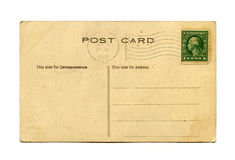 Antique postcard Stock Photo