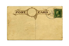 Antique postcard Stock Photo