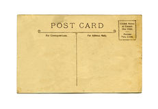 Antique postcard Stock Photography