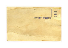 Antique postcard Stock Photos