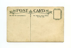Antique postcard Royalty Free Stock Images
