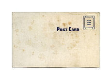 Antique postcard Stock Image