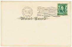 Antique Postcard Royalty Free Stock Photo