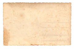 Antique postcard Royalty Free Stock Photography