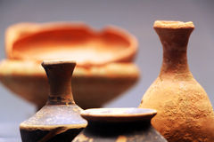 Antique pottery Stock Image
