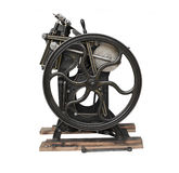 Antique Press With Gold Trim Stock Image