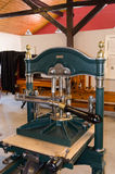 Antique printing press Stock Image