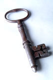 Antique Prison Mortice Key stock photography