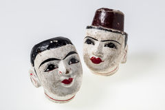 Antique puppets of Myanmar Stock Image