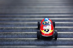 Antique race car which made before 1960s. royalty free stock photography