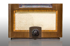 Antique radio Royalty Free Stock Photography