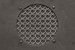 Antique Radio Grille for WWII Radio. Black and White Antique Radio Grille for WWII Radio stock photos