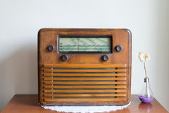 Antique radio royalty free stock photography