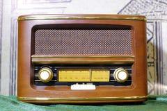 Antique radio Royalty Free Stock Photo
