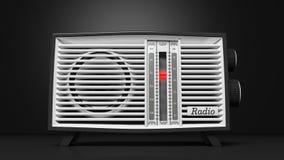 Antique radio transistor Royalty Free Stock Image