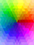 Antique rainbow color chart background Royalty Free Stock Photos
