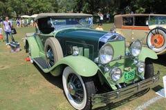 Antique and rare 30s american car Stock Photos