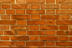 Antique red brick. background decorative screensaver. stock photo