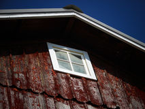 Antique Red. Old antique red wooden barn Royalty Free Stock Image