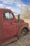 Antique Red Truck Royalty Free Stock Photo