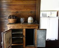 Antique Refrigerator Royalty Free Stock Images