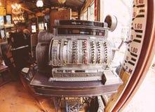 Antique register machine Stock Photos