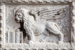 Antique relief with chimera Royalty Free Stock Images