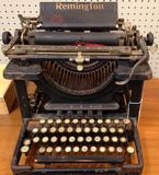 Antique Remington typewriter Royalty Free Stock Photo