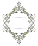 Antique retro lace border Stock Photo