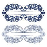 Antique retro pattern border Royalty Free Stock Images