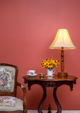 Antique / retro style home interior. Stock Images