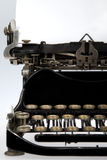 Antique Retro Typewriter Close-up Royalty Free Stock Photography