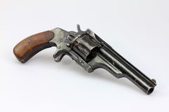 Antique revolver Stock Image