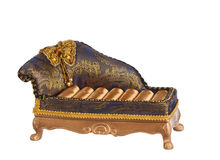 Antique rich couch Royalty Free Stock Photography