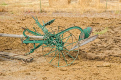 Antique Riding Plow Royalty Free Stock Photography