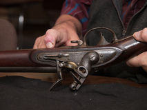 Antique Rifle Royalty Free Stock Image