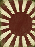 Antique Rising Sun Background Royalty Free Stock Photos