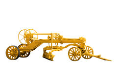 Antique Road Grader Stock Photos