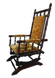 Antique Rocking Chair Royalty Free Stock Photos
