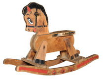 Antique Rocking Horse Stock Photography