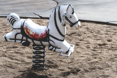 Antique Rocking Horse Royalty Free Stock Images