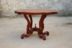 Antique rokoko table Stock Photography