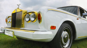 Antique Rolls-Royce Royalty Free Stock Photos