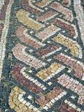 Antique roman floor mosaic Stock Image