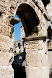 Antique Roman forum in Pula Stock Photos